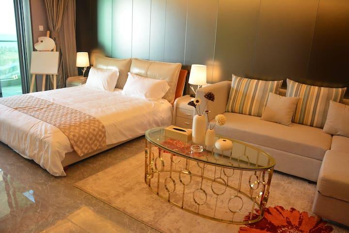 度假家·海口西海岸精美装修1居无敌海景房[4] - Haikou Shi - Appartement