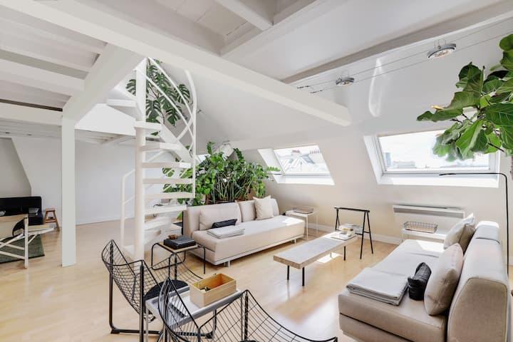 Appartement de 125 m2 Luxe / penthouse Marais