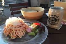Bauhöfers Braustübl in Renchen-Ulm mit tollem Biergarten und guter badischer Küche