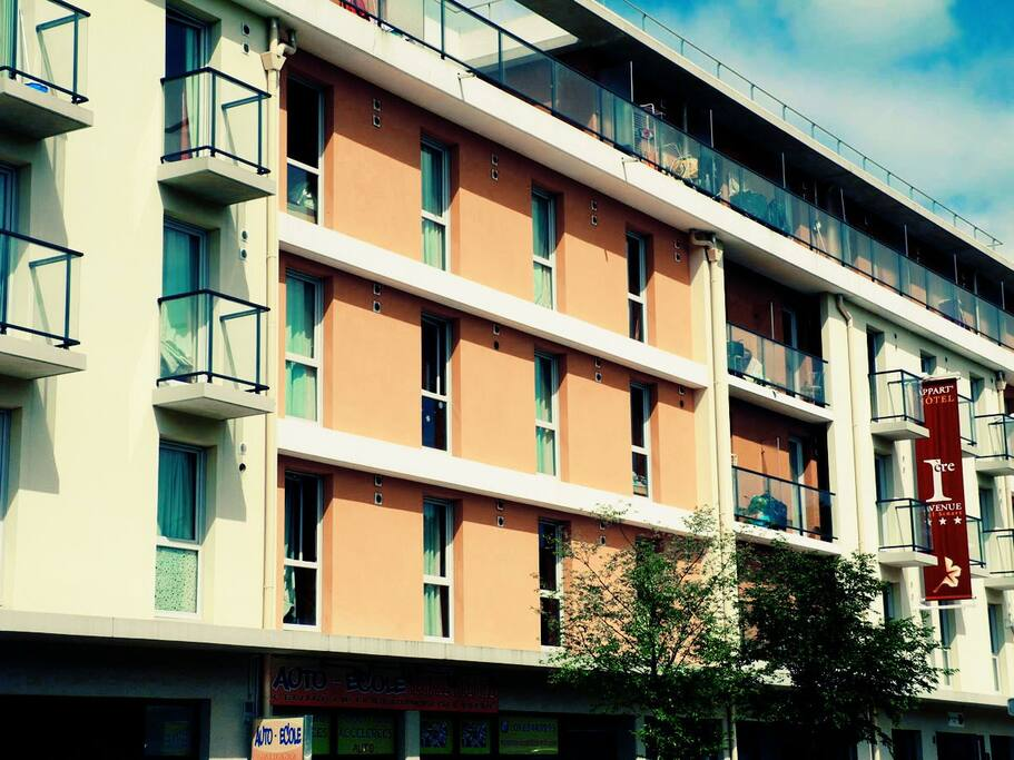 Studio s appartamenti in affitto a quincy sous s nart for Appart hotel quincy sous senart