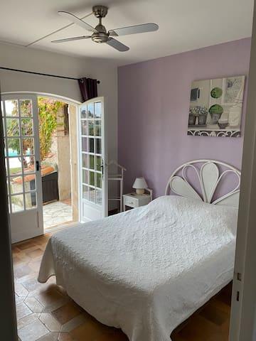 Bedroom 1 - Double bedroom with double doors