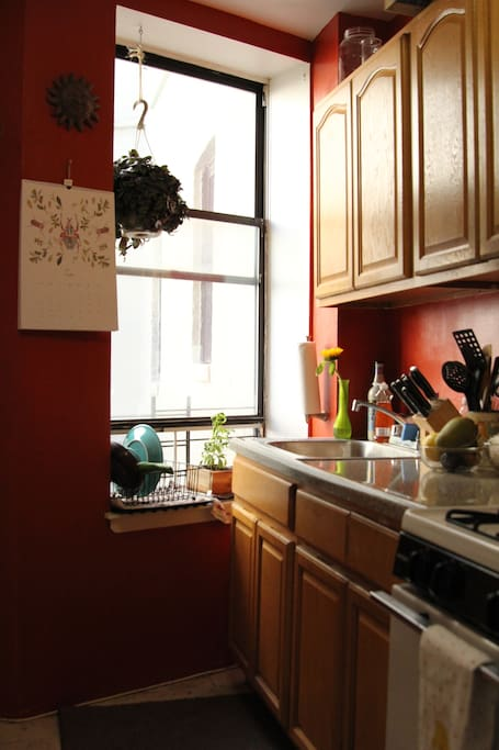 Our Sweet Red Kitchen