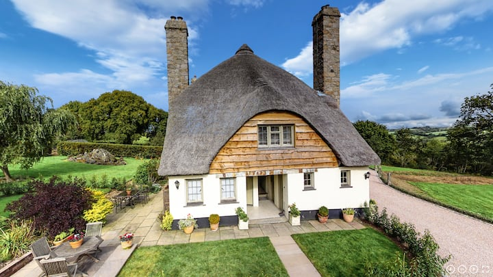 Secluded cottage on edge of Dartmoor National Park