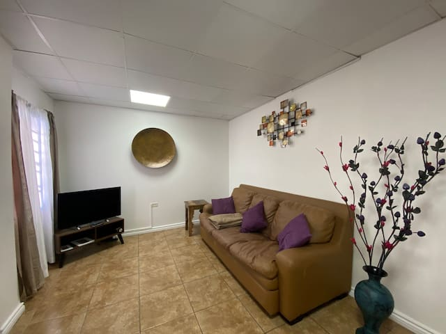 Luxury two bedroom apartment with a garden.