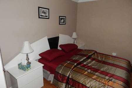 1 clean & private bedroom in Gatineau + 1 parking