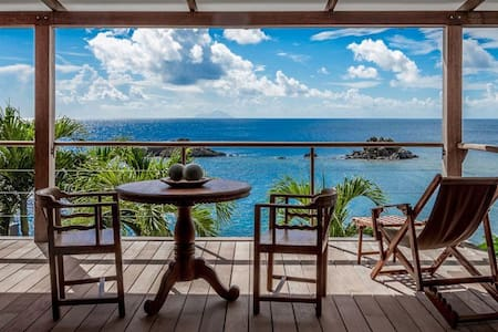 Gustavia Hill - Ideal for Couples and Families, Beautiful Pool and Beach - Gustavia