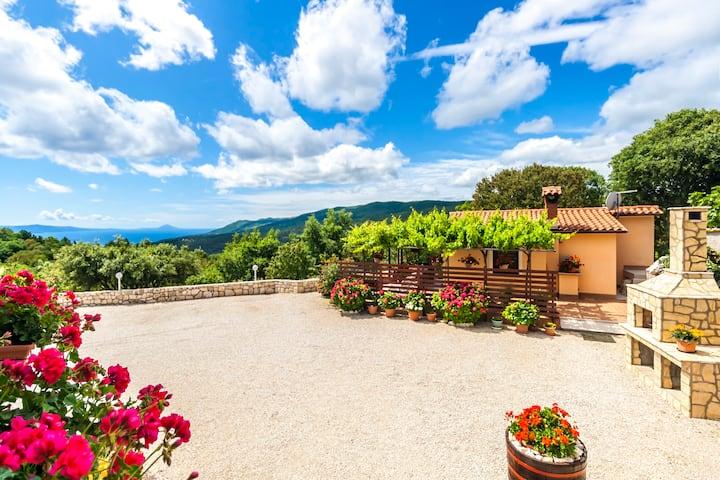 House Lana with Sea view Gondolici Istria Croatia