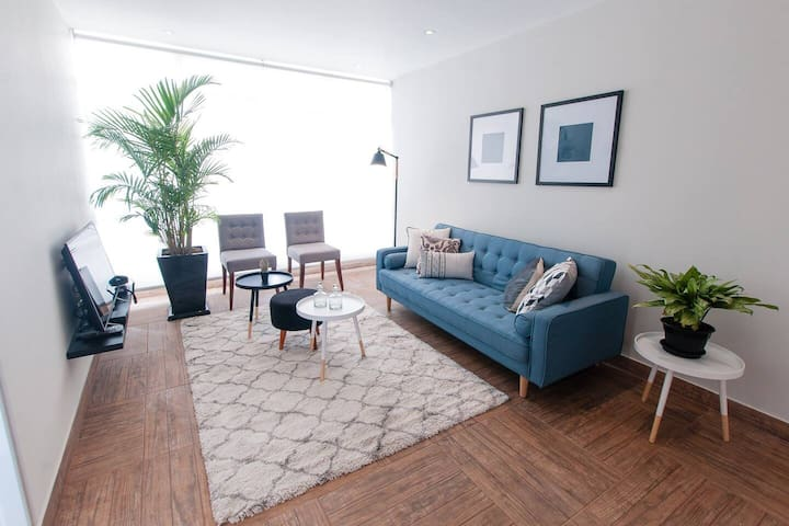 Bright Central Apartment Miraflores - Kennedy Park