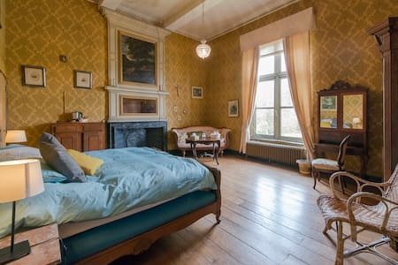 Chateau de waleffe - Yellow Room - Faimes - Schloss
