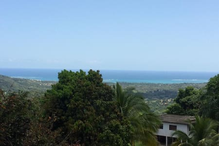 Amazing  view from the mountain to the sea - Río Grande
