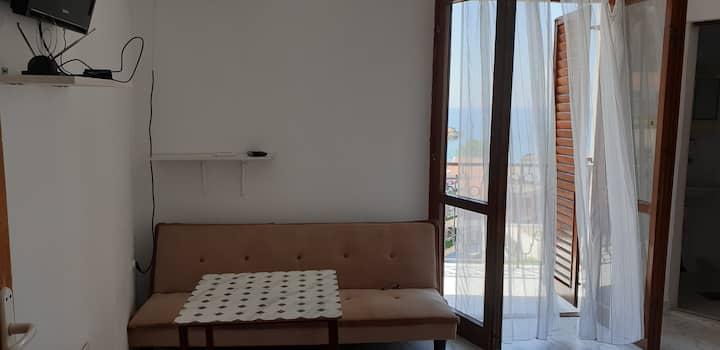 Sea view triple studio - Prag apartments Ulcinj