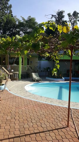 Villa with Swimming Pool and Function Hall