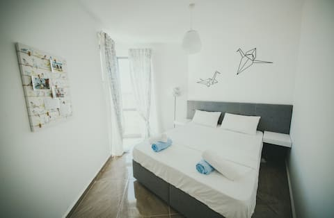 Design-Apartment neben dem Strand, Nordzypern