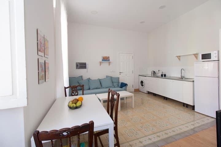 Luminoso apartamento en el centro de La Orotava