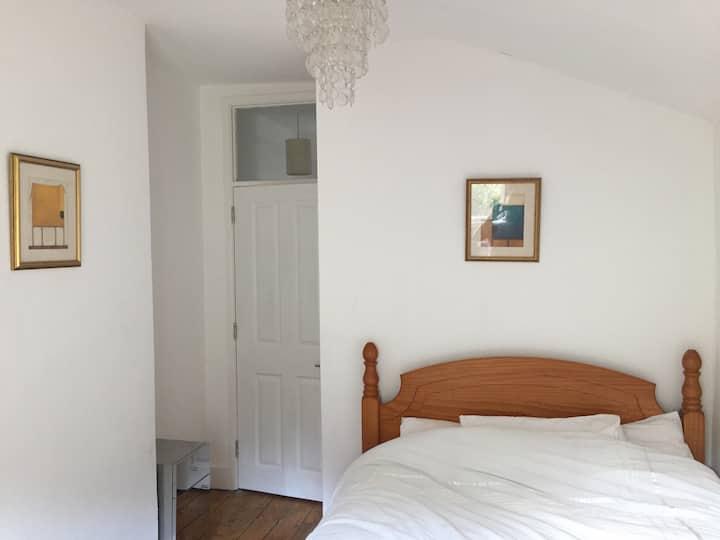 Quiet Double Room with Garden Views