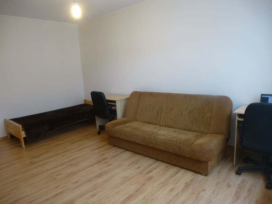 Single bed & sofa bed