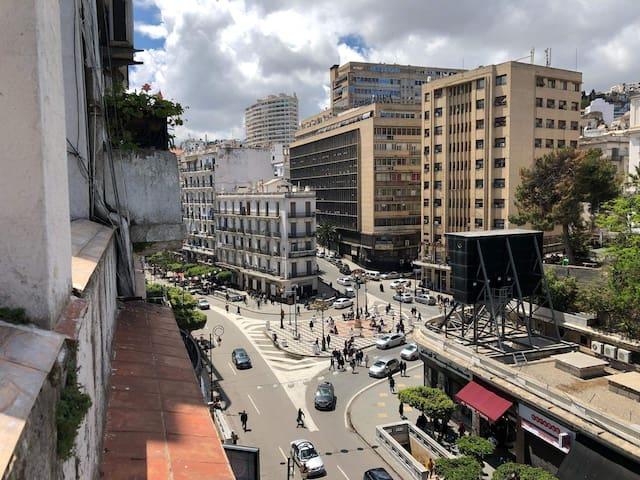 Appartement avec  terrasse au cœur d'Alger