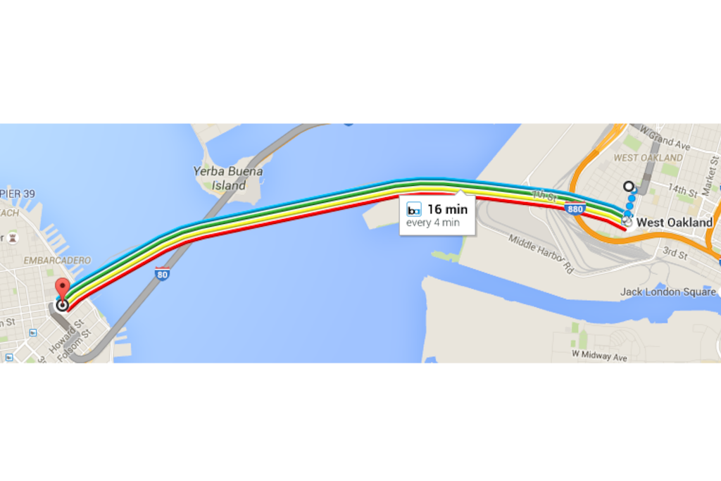 Quick access to San Francisco (every 4 min.)