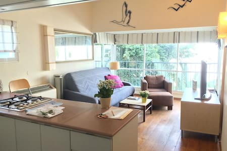 Beautiful quiet at the heart of TLV - Appartement