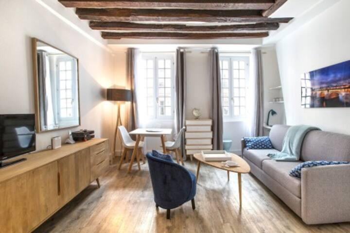 Studio Cosy au coeur du quartier latin à Paris 6