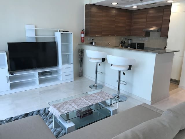 Spacious nicly furnished studio in bay square - Dubai