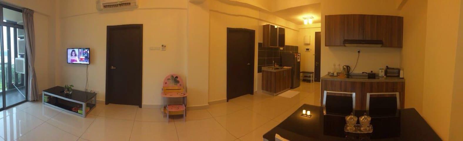 2Bedrooms D'inspire Exec Apt - Johor Bahru - Ortak mülk