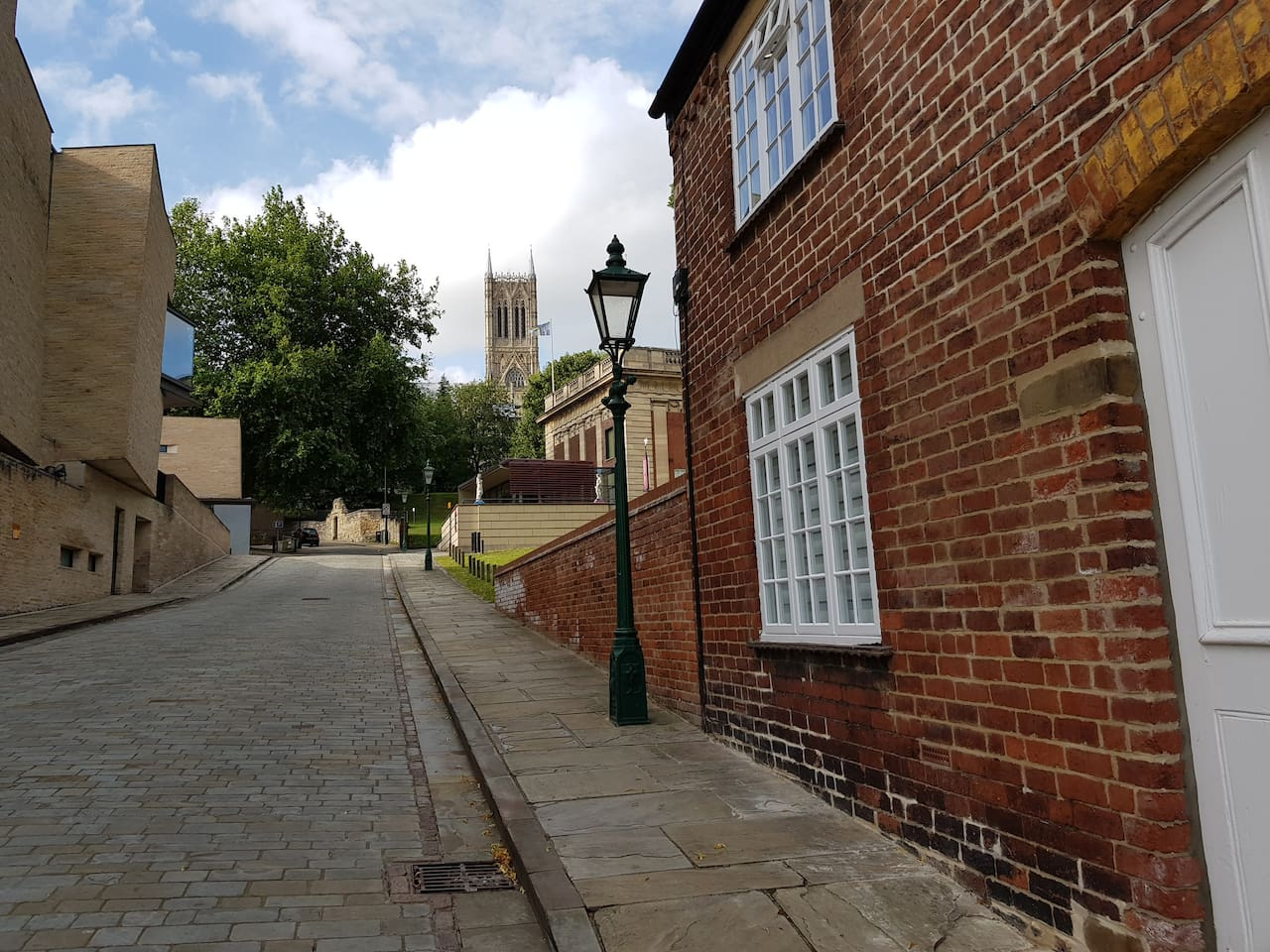 View to Lincoln Cathedral, The Collection Museum and the Usher Gallery from the front of the ground floor property.