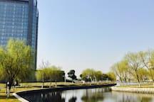 苏州北站文艺小屋 Suzhou North Railway Station Apartment