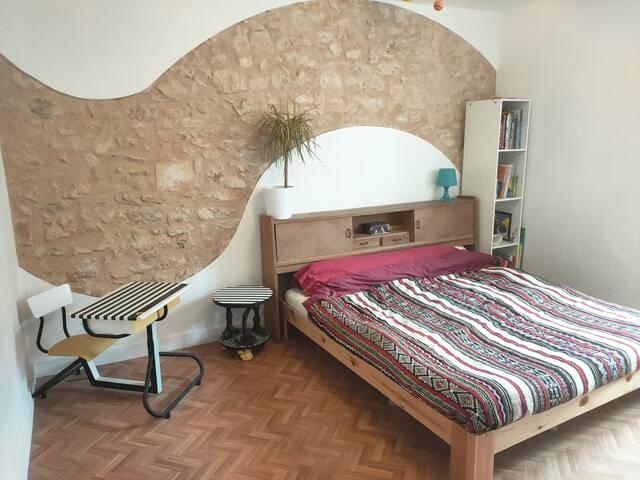 chambre 1 lit Long size
