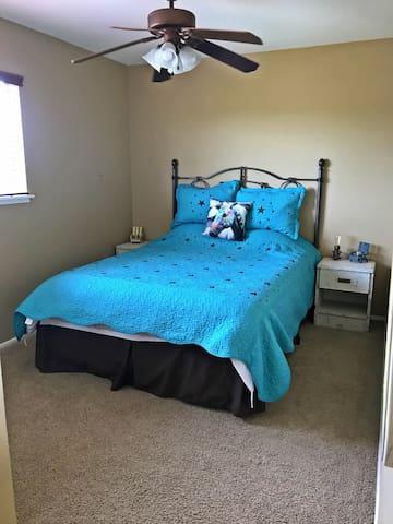 Upstairs Queen corner room