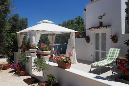 Romantic Trullo in magical garden - Carovigno