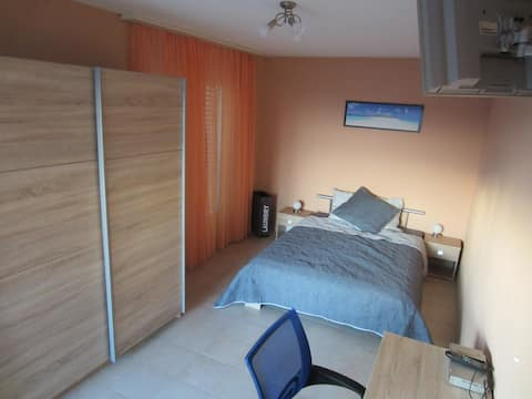 Belle chambre dans appartement en résidence