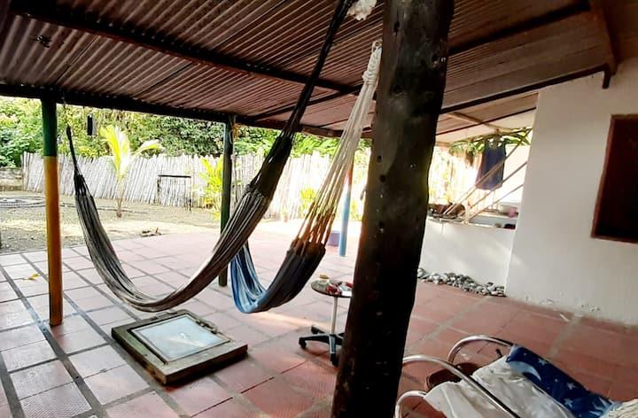 Habitaciones en Palomino-Guajira