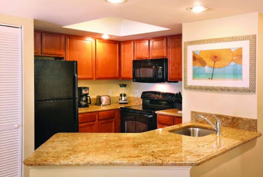 Upgrades in full service kitchen
