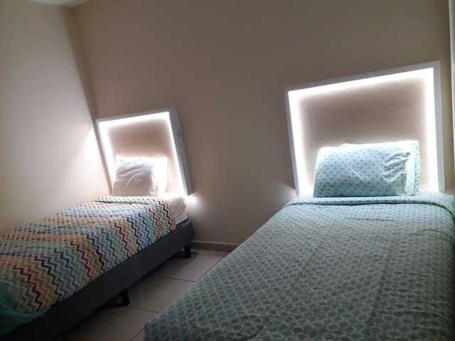 2da recamara (2 camas individuales)