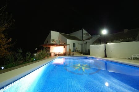 Beautifully restored flour mill with private pool - Salar - Casa