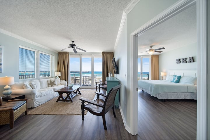 Summerwind West ~ Unit 201 ~ Oceanfront Luxury ~ Renovated 3BR/3BA