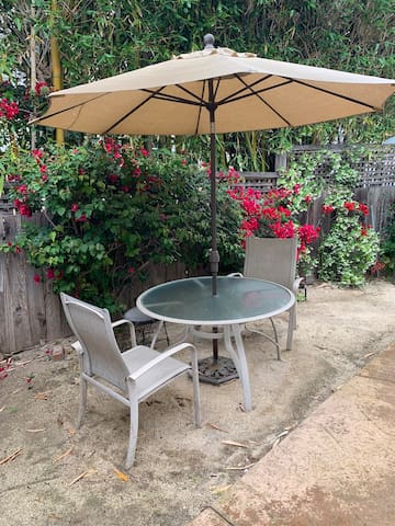 Your outdoor eating area