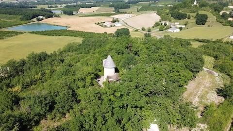 Gîte insolite Moulin de Rouzé