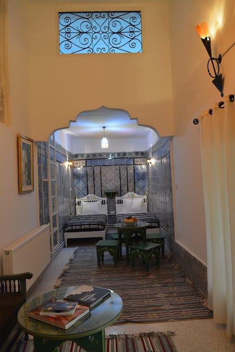 Chambre Narjess à DAR YA Médina de Tunis