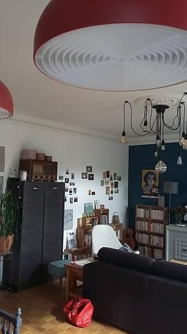 Chambre chaleureuse à Rennes