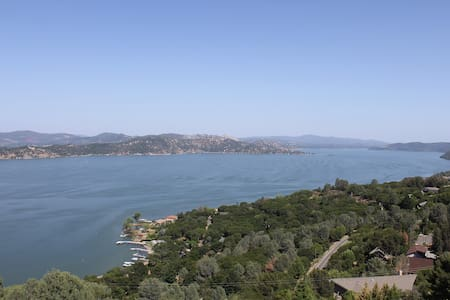 Beautiful Lake view House 8254 - Kelseyville