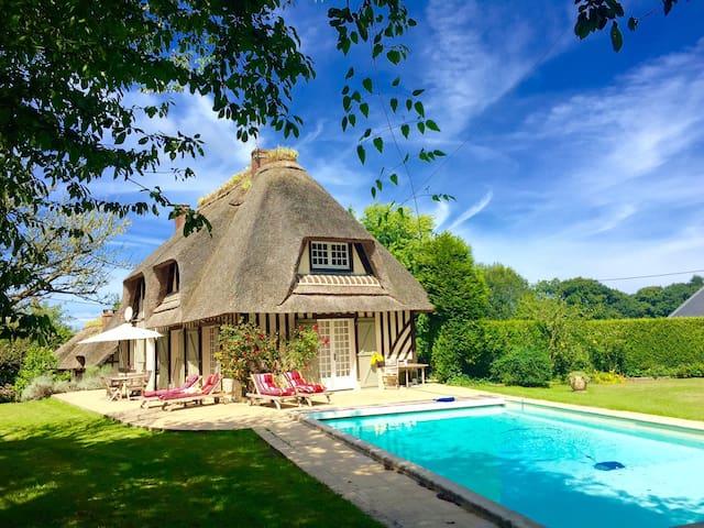 Belle chaumière-10´de DEAUVILLE.Séjour enchanteur - Gonneville-sur-Mer - Haus