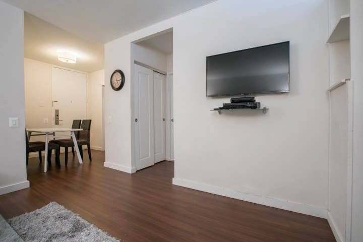 Luxury 2bed/1bath apartment in midtown area !!