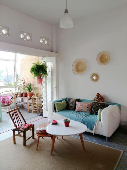 Sofa lounge area