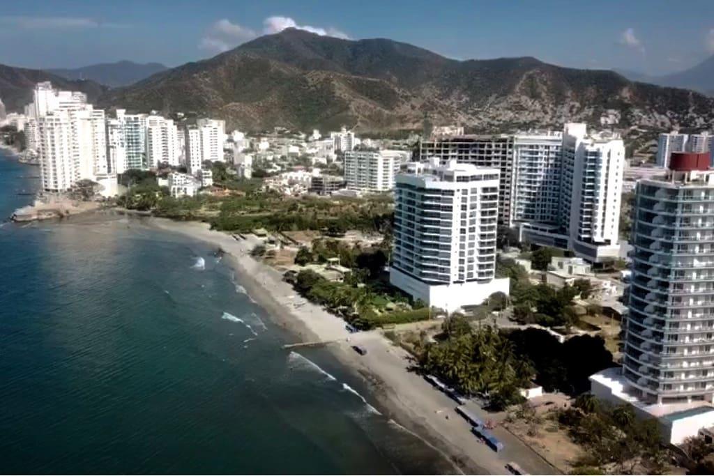 Playa salguero