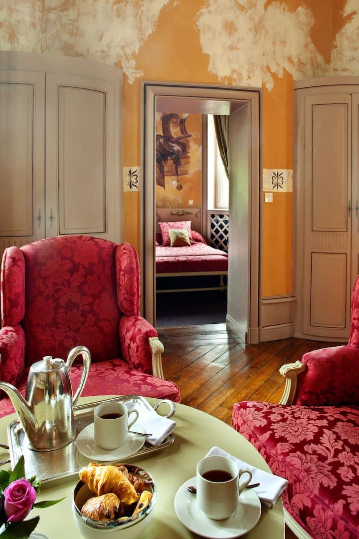 La Suite Hommes d'Etat au Château des Reynats