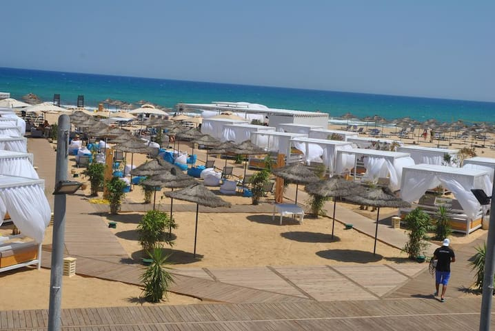 Bungalow vu sur mer - Hammamet Sud - 平房