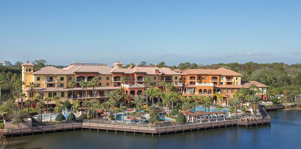 Family Friendly 2 BR at Bonnet Creek Resort!