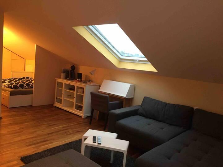 Dachgeschosswohnung im Zentrum von Bad Soden